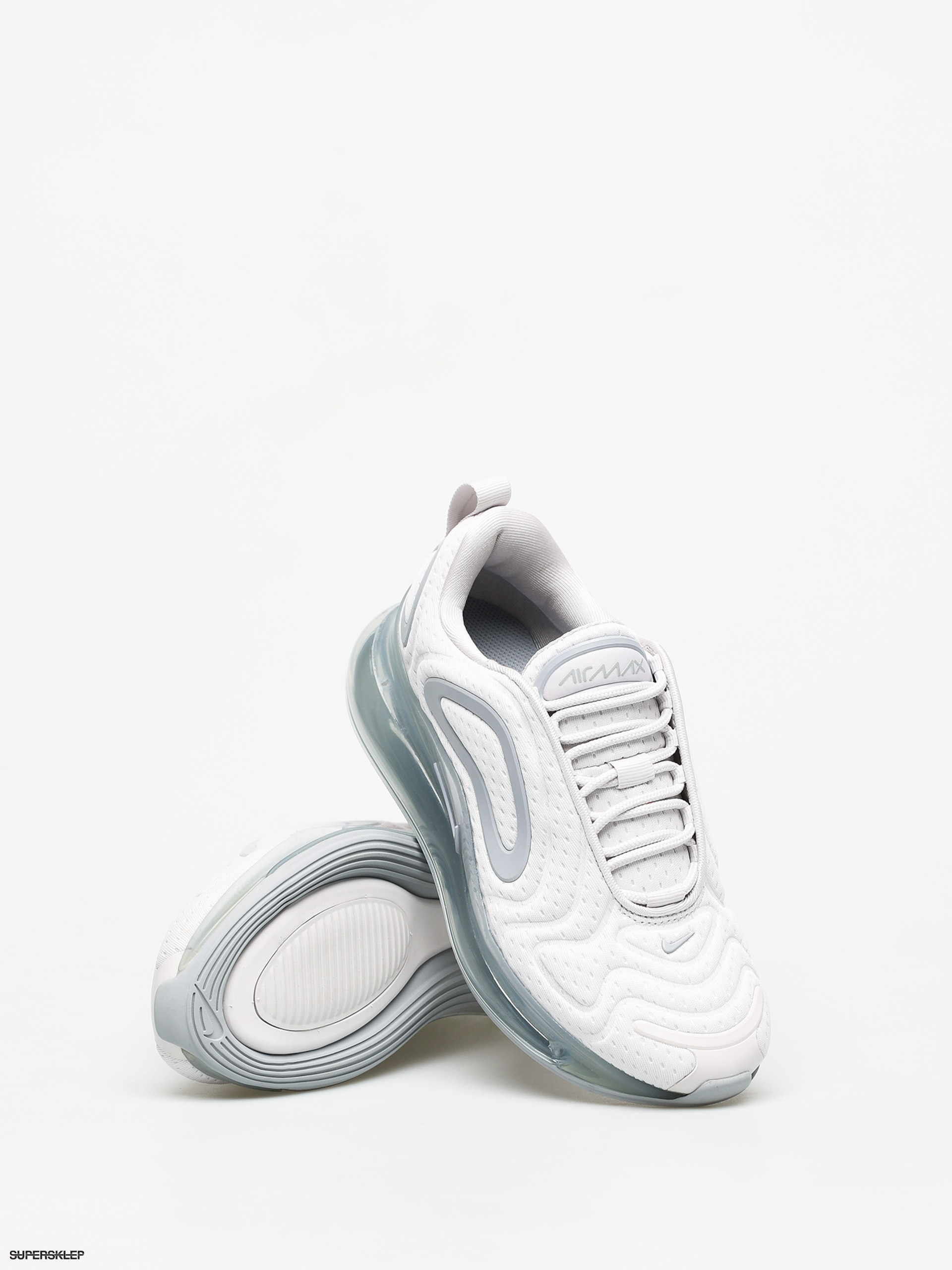 Sneakers Buty Nike Air Max 720 white white mtlc platinum