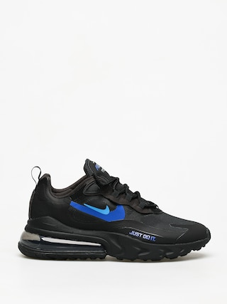Buty Nike Air Max 270 React (black/blue hero hyper royal cool grey)