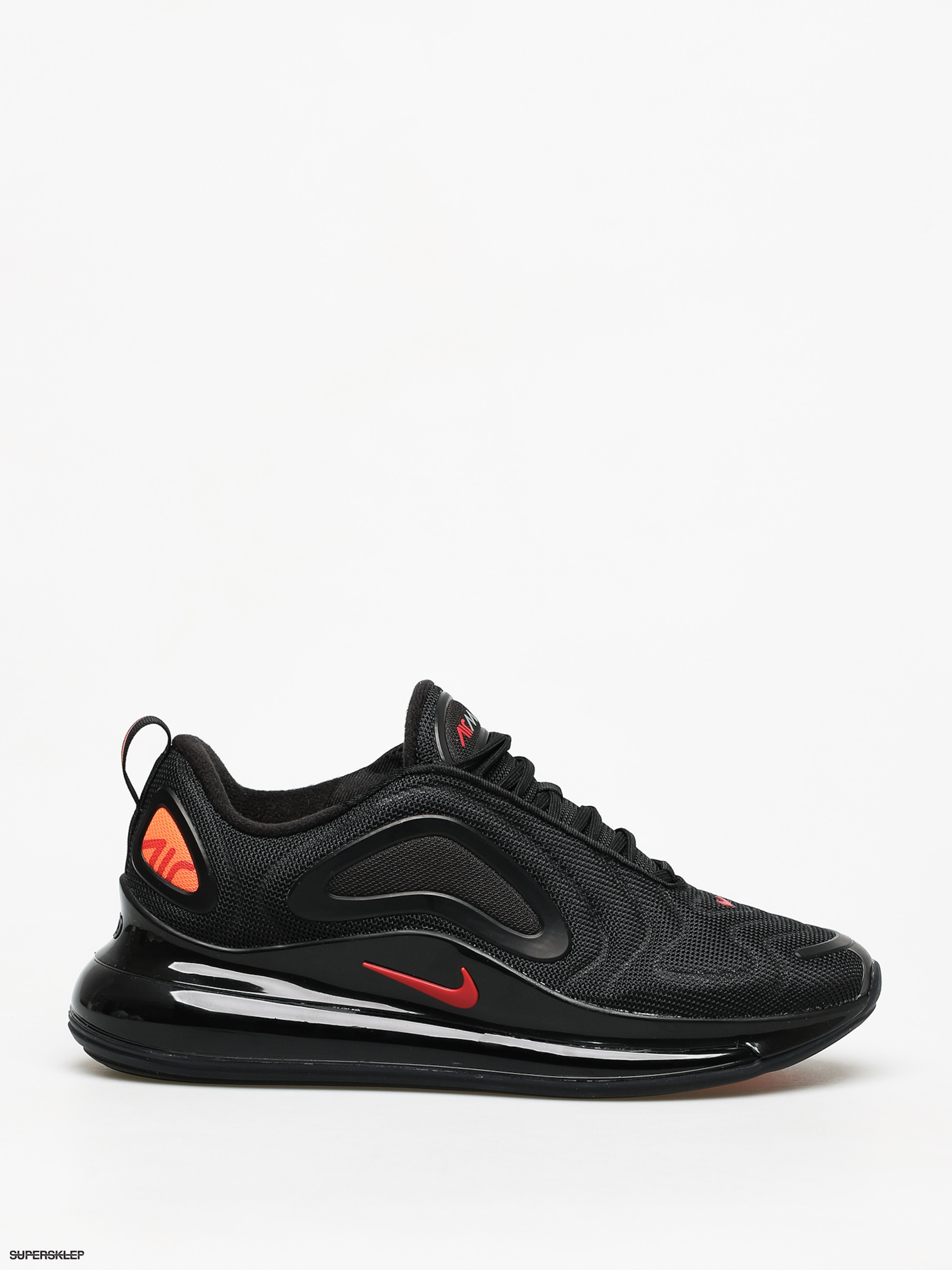Buty Nike Air Max 200 (blackwhite off noir metallic silver)