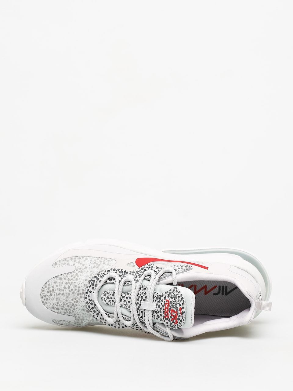 Buty Nike Air Max 270 React (neutral greyuniversity red lt