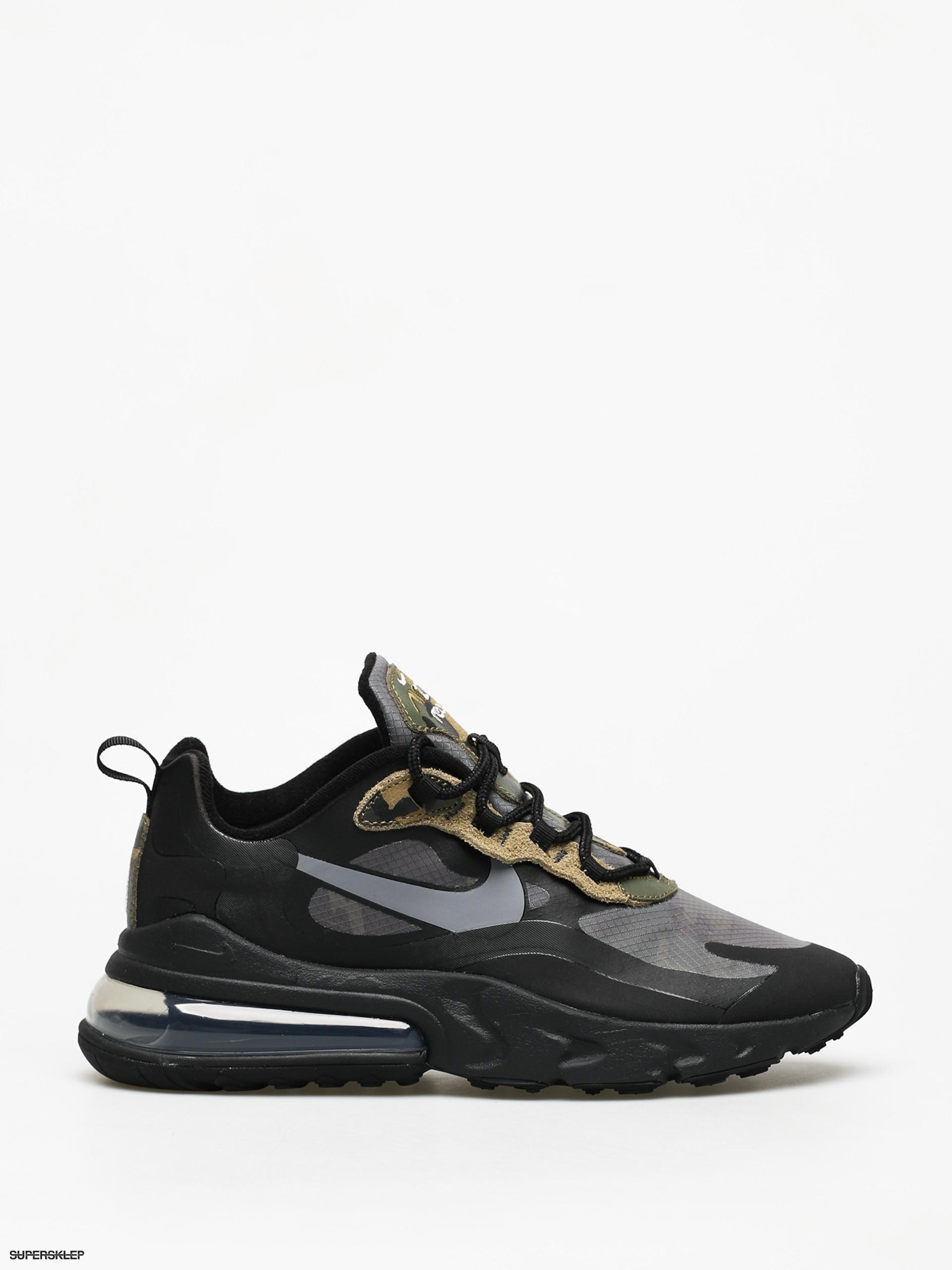 Buty Nike Air Max 270 React (blackwhite anthracite)