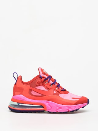 Buty Nike Air Max 270 React Wmn (mystic red/bright crimson pink blast)