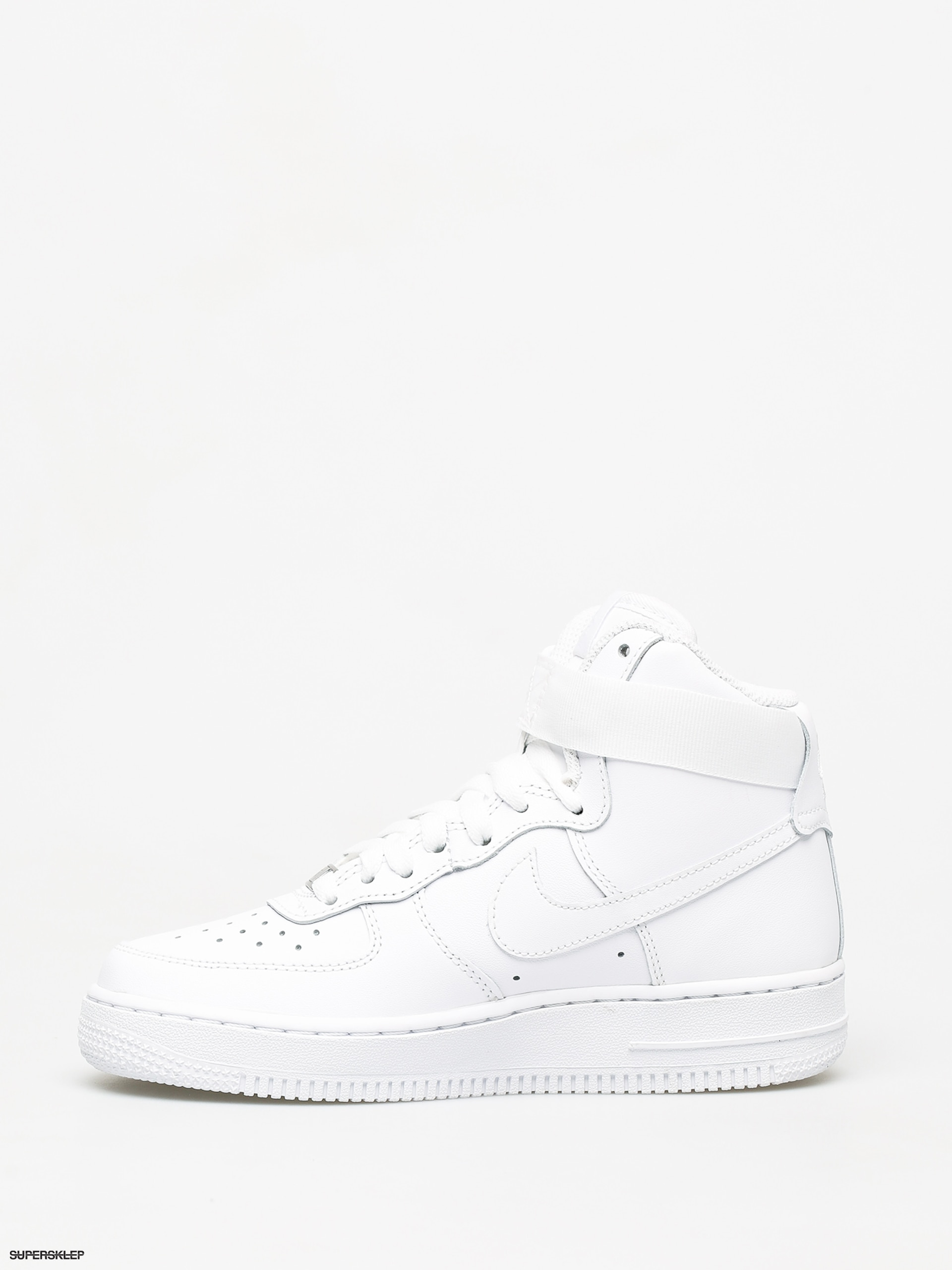 Buty Nike Air Force 1 High Wmn (whitewhite white)