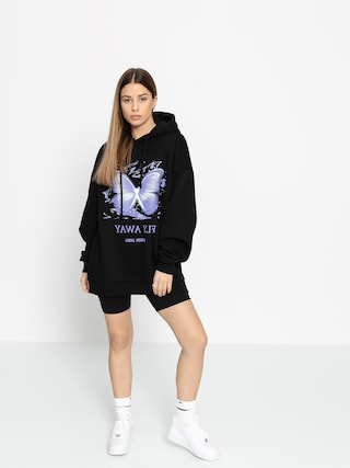 Bluza z kapturem Local Heroes Fly Away HD Wmn (black)