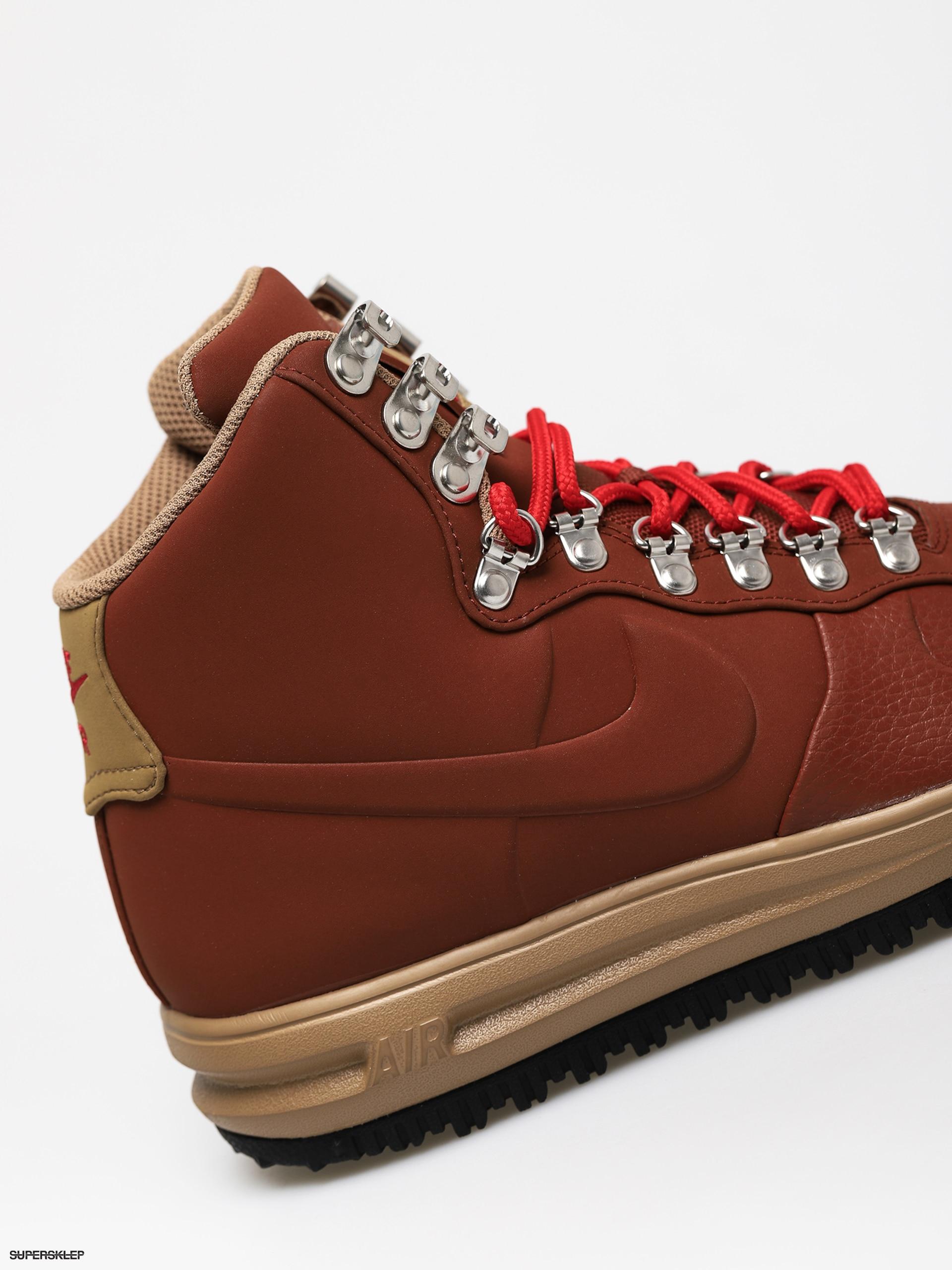 Buty Nike Lunar Force 1 18 (cinnamonbeechtree black university red)