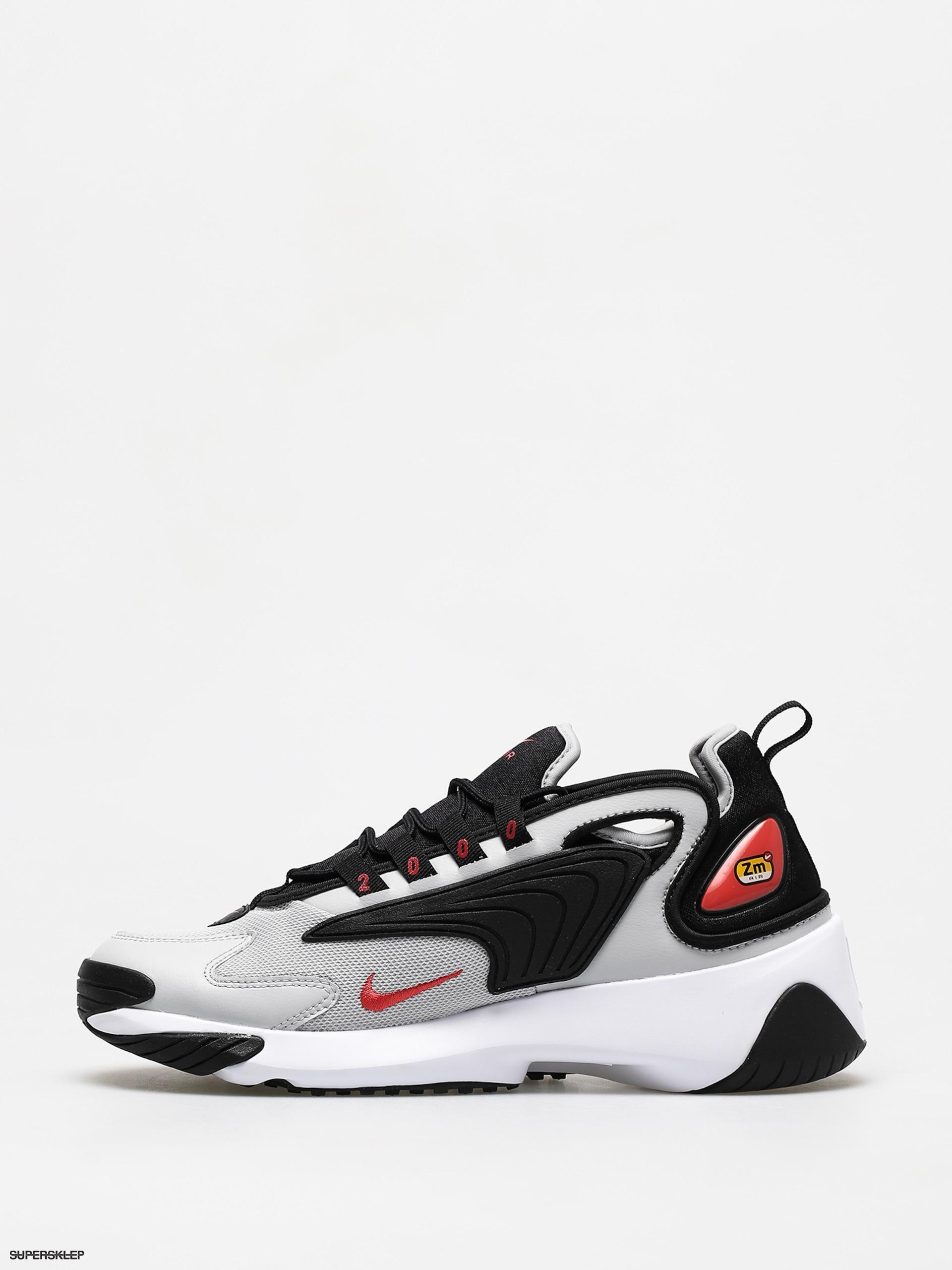 Sneakers Buty Nike Zoom 2K blacktrack red grey fog white (AO0269 010)