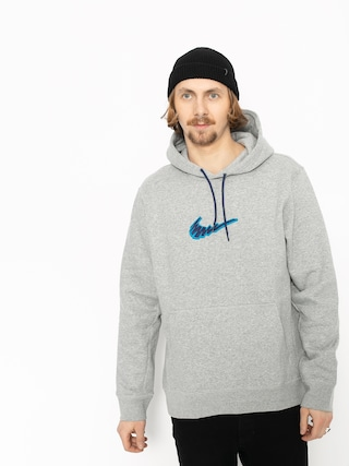Bluza z kapturem Nike SB Sb HD (dk grey heather/laser blue)