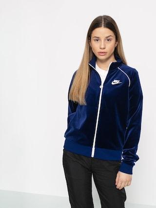Kurtka Nike Trk Velour Wmn (blue void/sail/sail/sail)