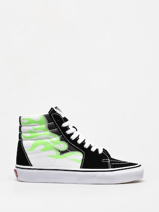 Buty Vans Sk8 Hi (flame black/true white)