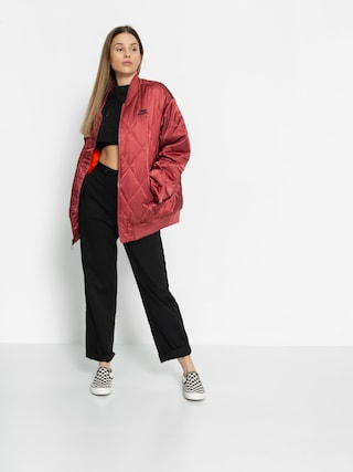Kurtka Nike Air Syn Fill Jkt Satn Wmn (cedar/team orange/black)