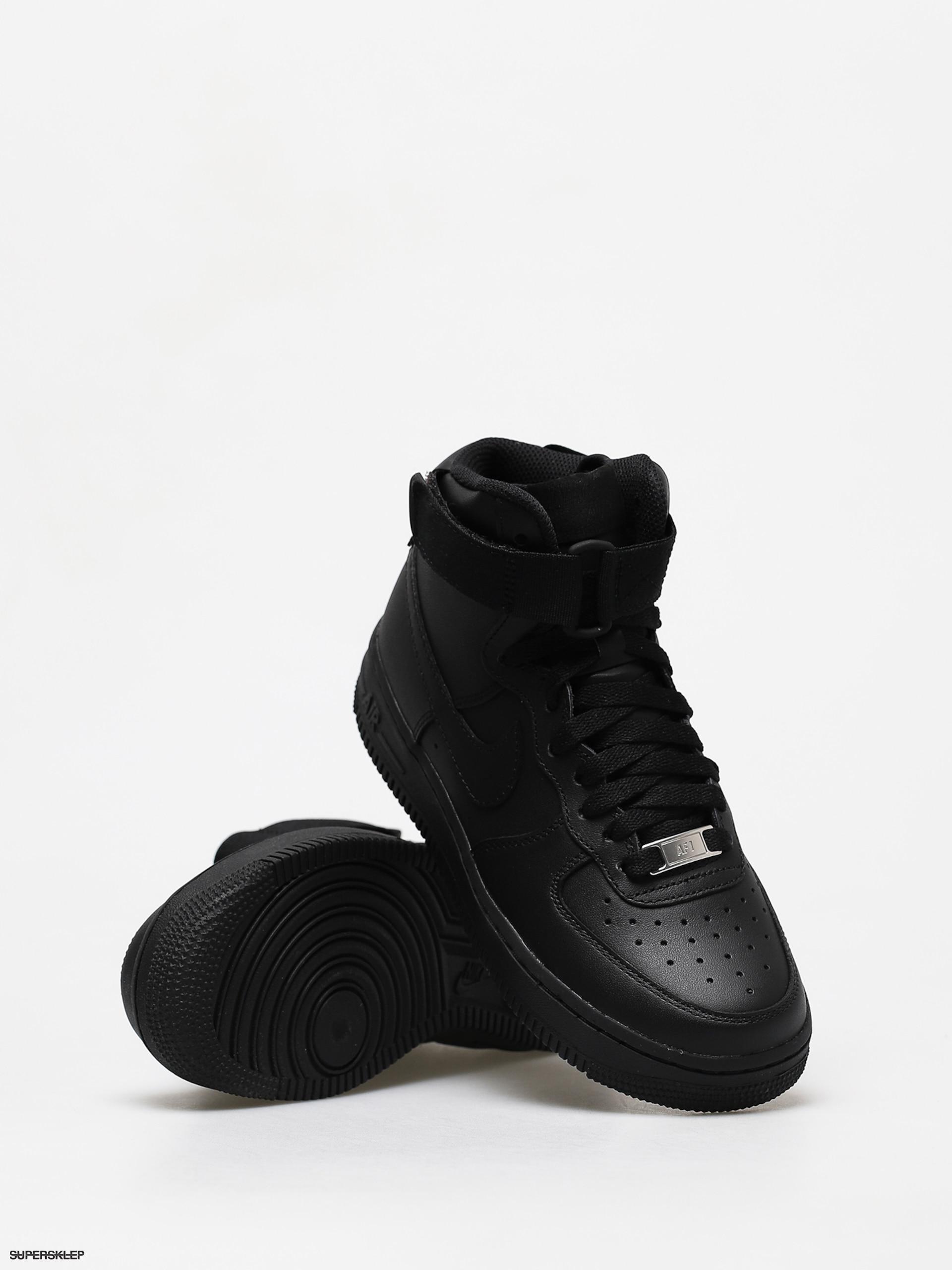 Buty Nike Air Force 1 High Wmn (blackblack black)