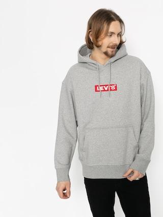 Bluza z kapturem Levi'su00ae Relaxed Graphic Box Tab HD (grey)