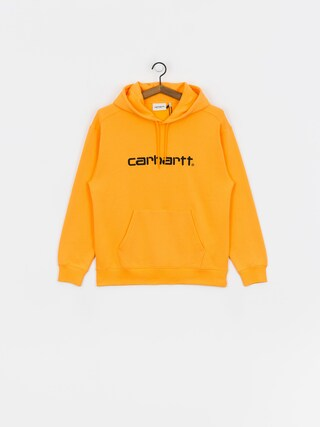 Bluza z kapturem Carhartt WIP Carhartt HD Wmn (pop orange/black)