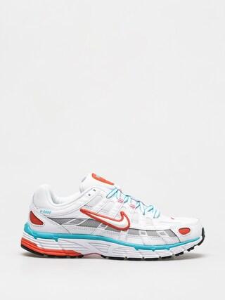 Buty Nike P 6000 Wmn (white/white oracle aqua magic flamingo)