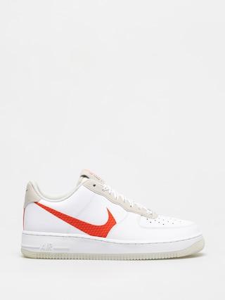 Buty Nike Air Force 1 07 Lv8 (white/total orange summit white black)