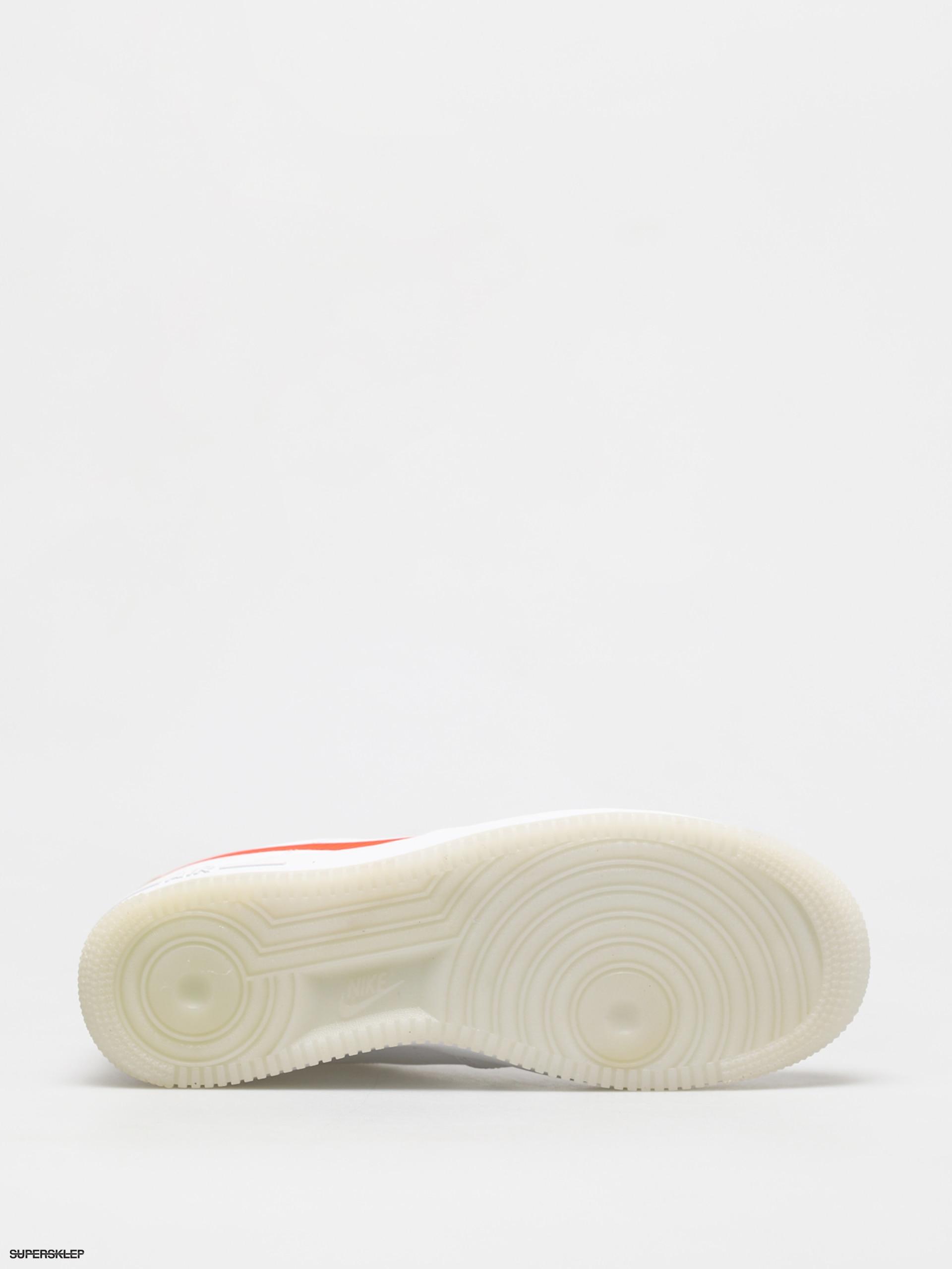 Buty Nike Air Force 1 07 Lv8 (whitetotal orange summit white black)