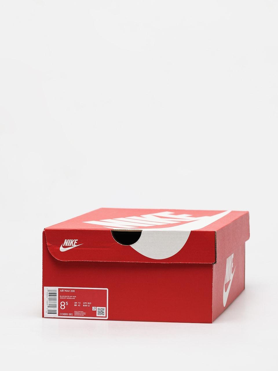 Buty Nike Air Max 200 (blackwhite off noir metallic silver)