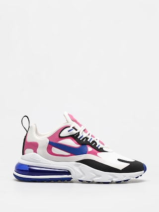 Buty Nike Air Max 270 React Wmn (summit white/hyper blue cosmic fuchsia)