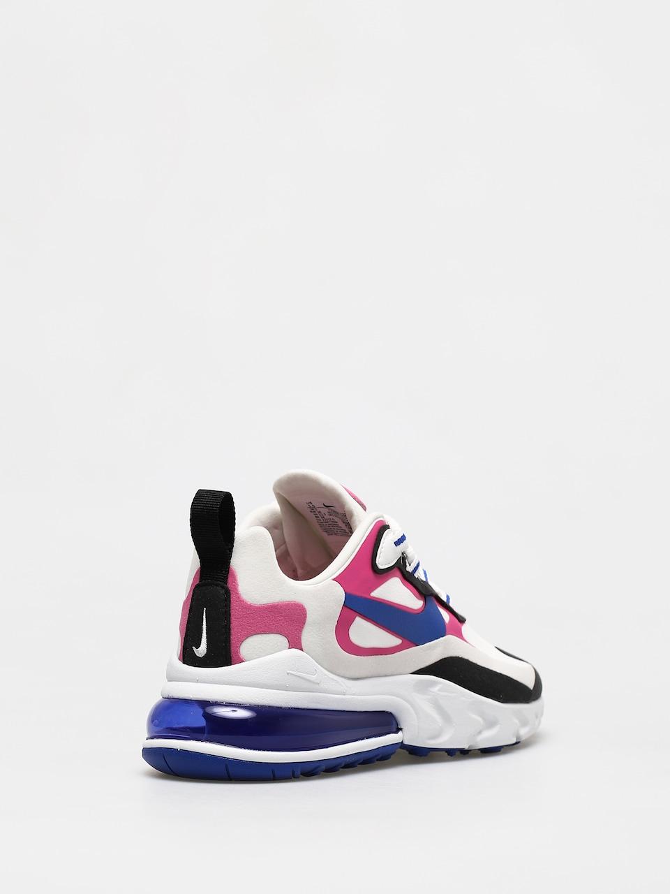 Buty Nike Air Max 270 React Wmn (summit whitehyper blue cosmic fuchsia)