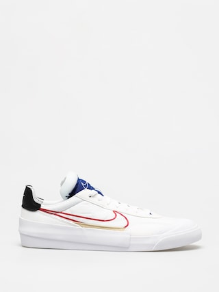 Buty Nike Drop Type (white/university red deep royal blue)