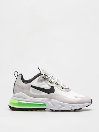 Buty Nike Air Max 270 React (summit white/electric green vast grey)