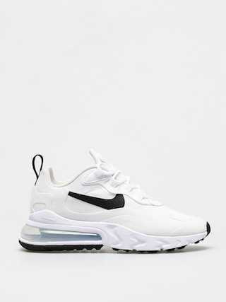 Buty Nike Air Max 270 React Wmn (white/black metallic silver)