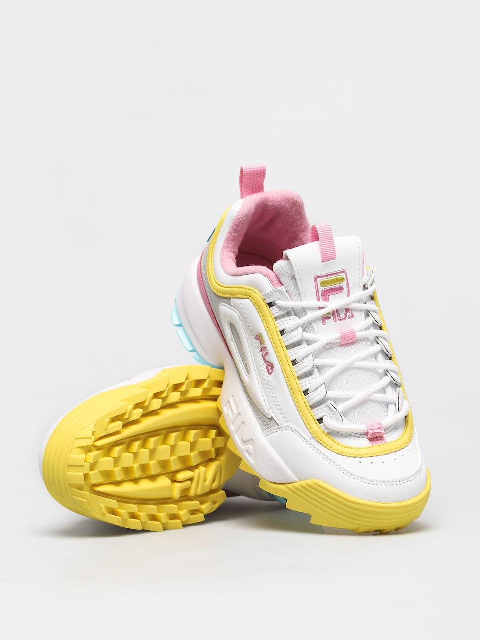 Fila Disruptor CB Low WMN White Limelight