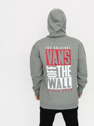 Bluza z kapturem Vans New Stax HD (cement heather)