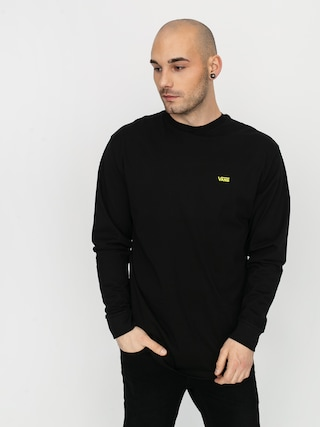 Longsleeve Vans Left Chest Hit (black/sulphur spring)