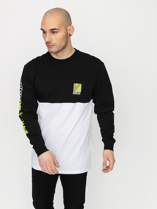 Longsleeve Vans Retro Sport Colorblock (white/black)