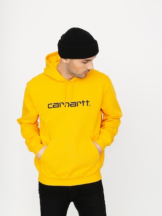 Bluza z kapturem Carhartt WIP Carhartt HD (sunflower/black)