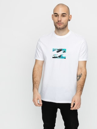 T-shirt Billabong Team Wave (white)