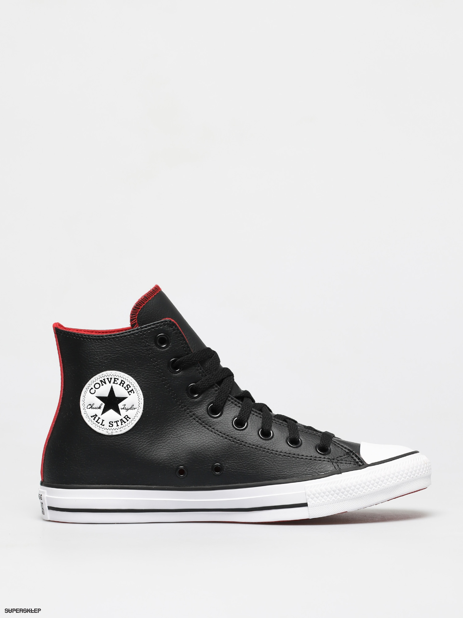 Trampki Converse Chuck Taylor All Star Faux Hi (blackuniversity redwhite)
