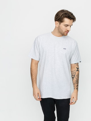T-shirt Vans Left Chest Logo (ash heather/heliotrope)