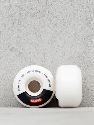 Kółka Globe G1 (white/black/bar)