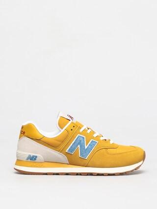 Buty New Balance 574 (yellow/blue)