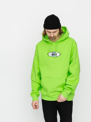 Bluza z kapturem Stussy Stussy 2 Bar App HD (green)