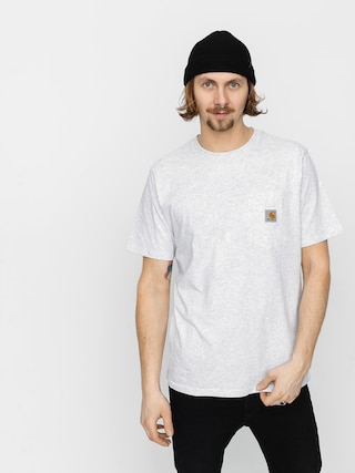 T-shirt Carhartt WIP Pocket (ash heather)