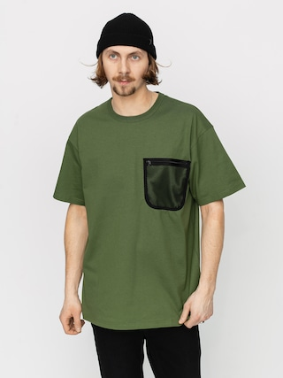 T-shirt Carhartt WIP Military Mesh Pocket (dollar green)