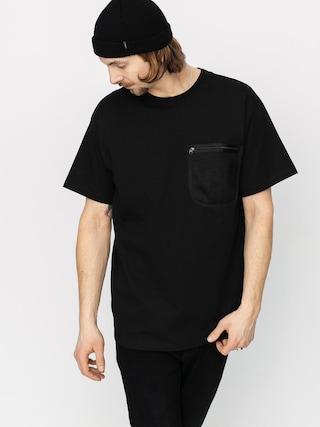 T-shirt Carhartt WIP Military Mesh Pocket (black)