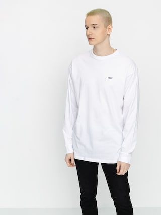 Longsleeve Vans Left Chest Hit (white/heliotrope)