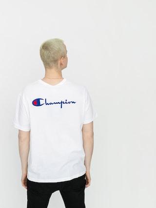 T-shirt Champion Premium Crewneck 214279 (wht)