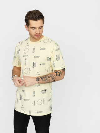 T-shirt Vans Distortion Allover Print (double cream)