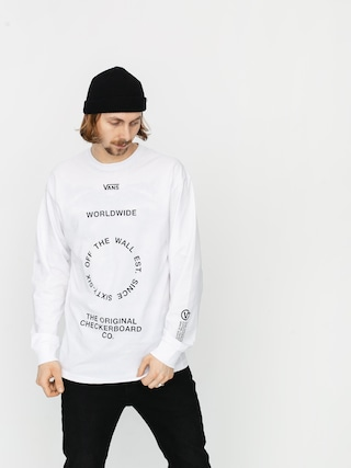 Longsleeve Vans Distortion (white)