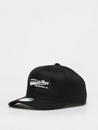 Czapka z daszkiem Mitchell & Ness Box Logo 110 6 Panel ZD (black)