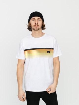 T-shirt Quiksilver Slab Pocket (white)