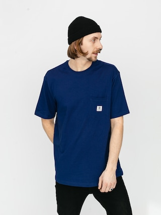 T-shirt Element Basic Pocket Label (blue depths)