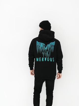 Bluza z kapturem Nervous Spill HD (black)