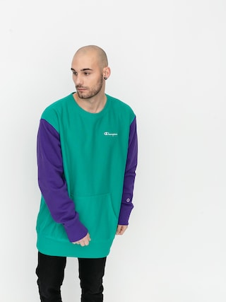 Bluza Champion Premium Crewneck Sweatshirt 214284 (spgr/prp)