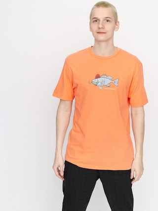 T-shirt Volcom Trout There Ltw (salmon)